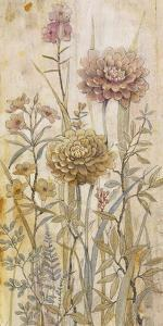 Floral Chinoiserie I by Tim O'toole