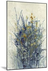Indigo Floral I by Tim O'toole