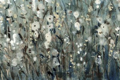 White Blooms with Navy I by Tim O'toole