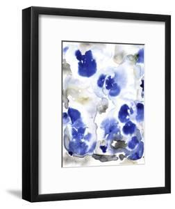 Blue Pansies I by Tim OToole