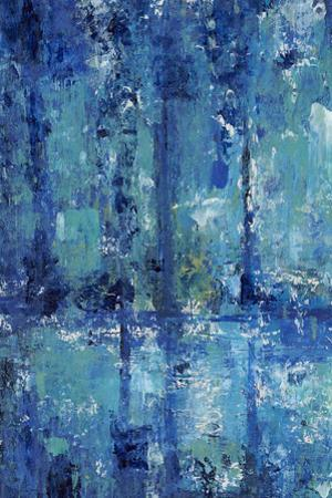 Blue Reflection Triptych I by Tim OToole