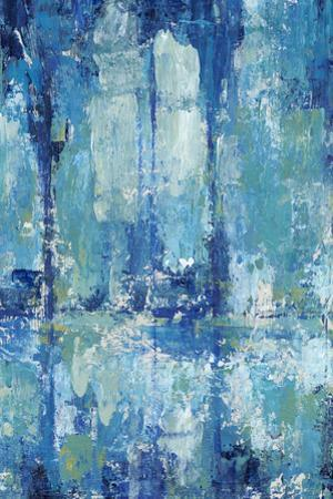 Blue Reflection Triptych II by Tim OToole