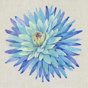 Floral Portrait on Linen I by Tim OToole