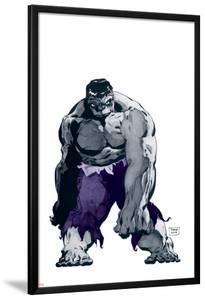 Hulk Gray No.1 Cover: Hulk by Tim Sale