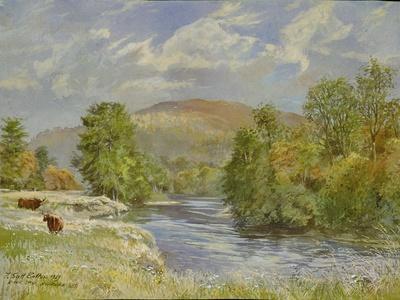 River Spey, Kinrara, 1989