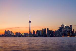 Toronto Skyline at Dusk by Tim Thompson