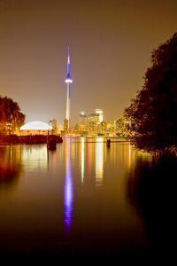 Toronto Skyline at Night by Tim Thompson
