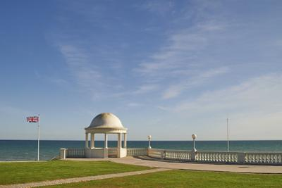 View towards the English Channel from De La Warr Pavilion, Bexhill-on-Sea, East Sussex, England, Un by Tim Winter