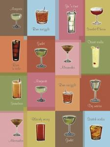 Cocktails Matrix by Tim Wright