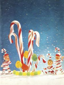 Holiday Candy Canes by Tim Wright