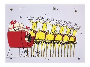 Holiday Reindeer by Tim Wright