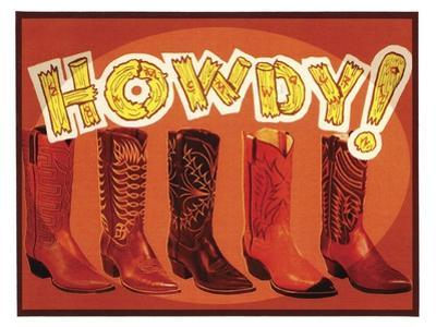 Howdy Boots by Tim Wright