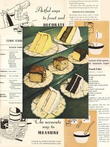 Menu Cakes by Tim Wright