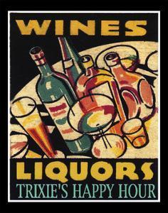 Wine Liquors by Tim Wright