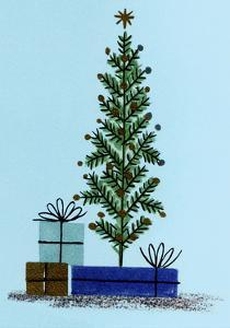 Xmas Tree and Gifts by Tim Wright