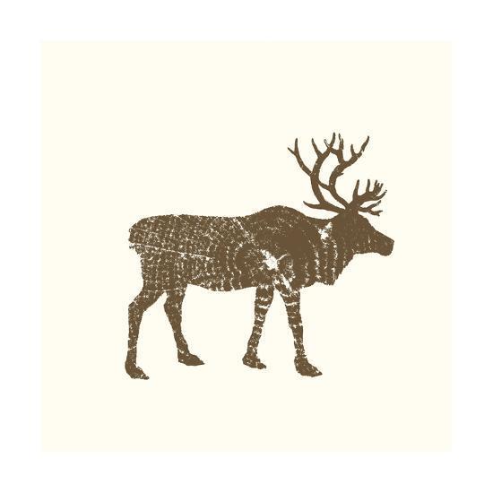 Timber Animals I-Anna Hambly-Art Print