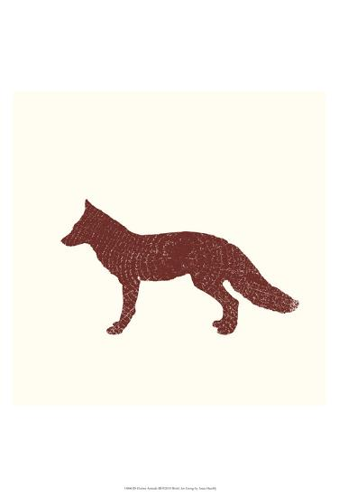 Timber Animals III-Anna Hambly-Art Print