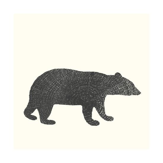 Timber Animals V-Anna Hambly-Art Print