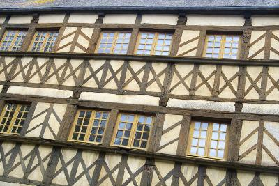 Timber Framed Building Moncontour-Cora Niele-Photographic Print