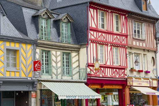 Timber Framed Shops-Cora Niele-Photographic Print