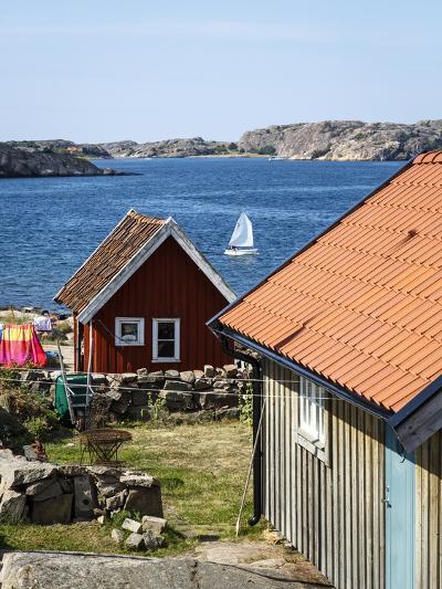 Timber Houses in Fjallbacka, Bohuslan Region, West Coast, Sweden, Scandinavia, Europe-Yadid Levy-Photographic Print
