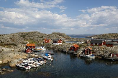 Timber Houses, Vaderoarna (The Weather Islands) Archipelago, Bohuslan Region, West Coast, Sweden-Yadid Levy-Photographic Print