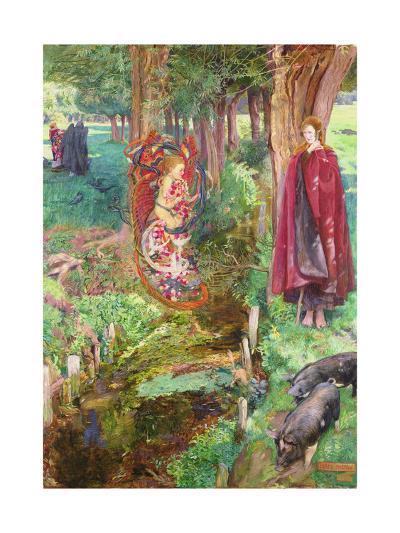 Time and Chance Happeneth to All Alike, 1901-John Byam Liston Shaw-Giclee Print
