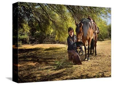 Time for a Snack-Barry Hart-Stretched Canvas Print