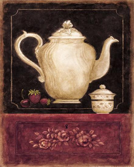 Time for Tea and Berries I-Herve Libaud-Art Print