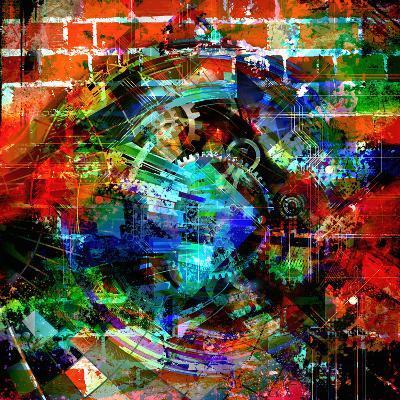 Time Machine-reznik_val-Art Print