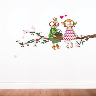 Time of the Cherries Wall Decal--Wall Decal