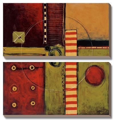 Time Passing-Keith Mallett-Canvas Art Set
