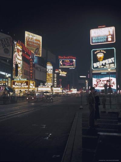Time Square, New York, c.1946--Photographic Print
