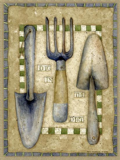 Time to Dig-Robin Betterley-Giclee Print