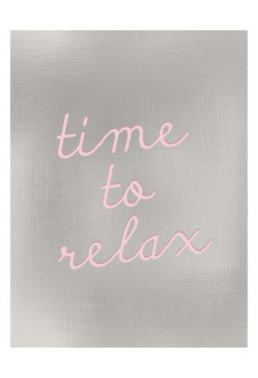 Time to Relax-Kimberly Allen-Art Print