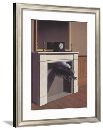Time Transfixed-Rene Magritte-Framed Art Print