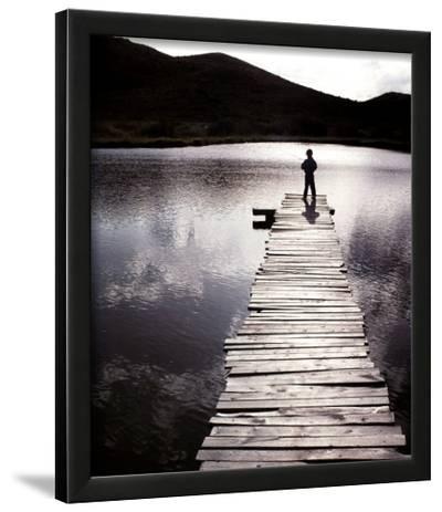 Time--Lamina Framed Art Print