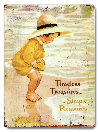 Timeless Treasures--Wood Sign