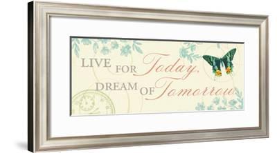 Times Flies III-Pela Design-Framed Premium Giclee Print