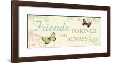 Times Flies IV-Pela Design-Framed Premium Giclee Print