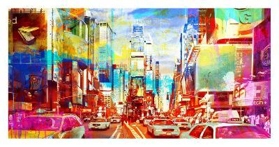 Times Square 2.0-Eric Chestier-Giclee Print
