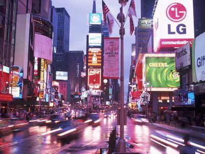 Times Square at Night, NYC, NY-Rudi Von Briel-Photographic Print