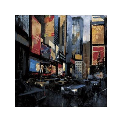 Times Square I-Marti Bofarull-Giclee Print