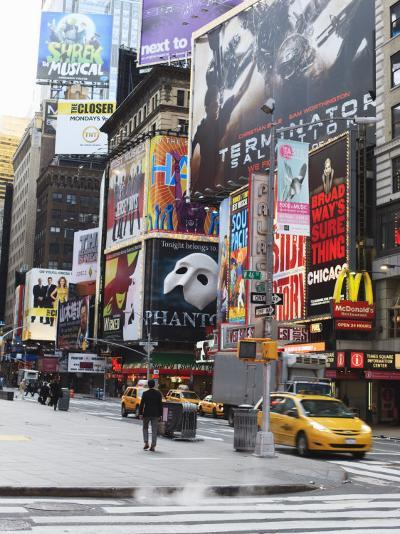 Times Square, Midtown, Manhattan-Amanda Hall-Photographic Print