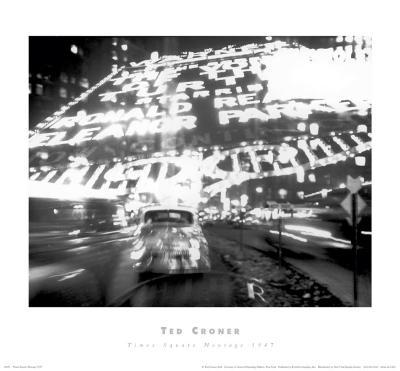 Times Square Montage, c.1947-Ted Croner-Art Print