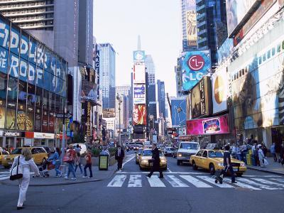 Times Square, New York, New York State, USA-Yadid Levy-Photographic Print