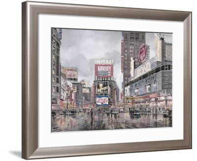 Times Square: New York-Stanton Manolakas-Framed Giclee Print
