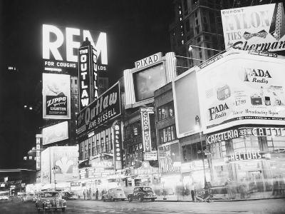 Times Square Nightlife--Photographic Print