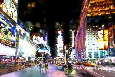 Times Square NYC-Philippe Hugonnard-Giclee Print