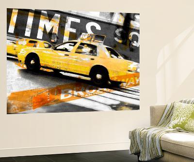 Times Square Taxi-GI ArtLab-Wall Mural